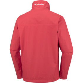 Columbia Bradley Peak - Chaqueta Hombre - rojo